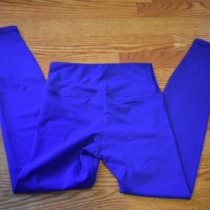 American Apparel Pants - Bright Blue American Apparel Workout Legging Small